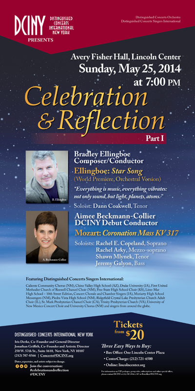 052514 Celebration and Reflection 1 poster