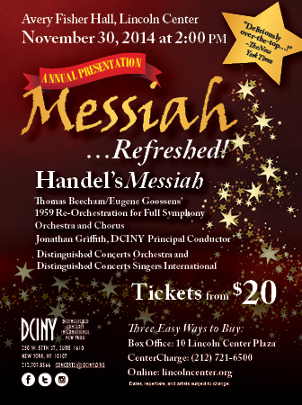 Time Out New York Magazine Ad Messiah Refreshed