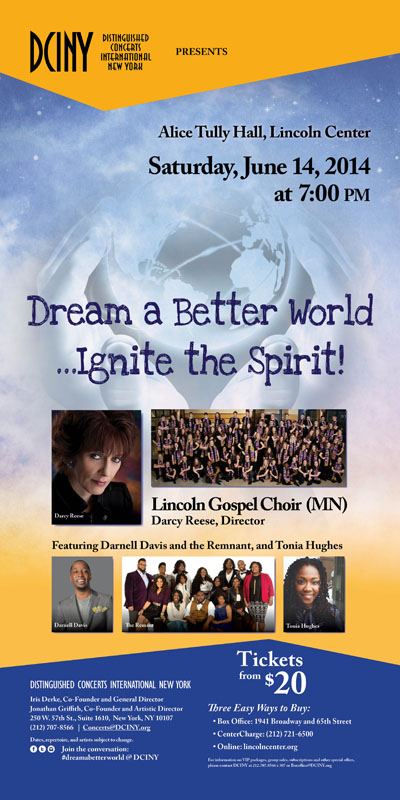 061414 Dream a Better World poster