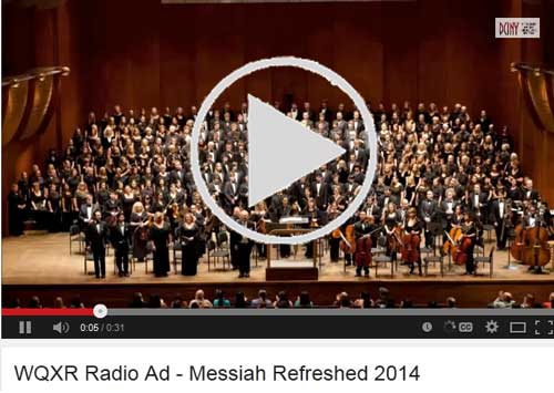 WQXR Radio Ad Messiah Refreshed 2014