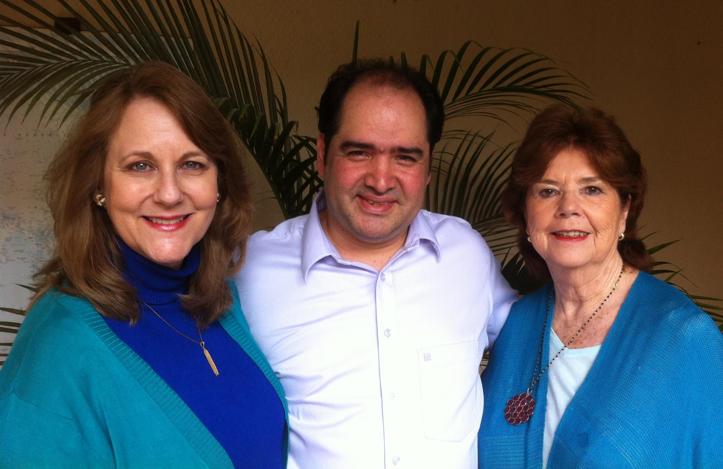 Betty Whitbeck, Heber Morales, Juliana O' Connor